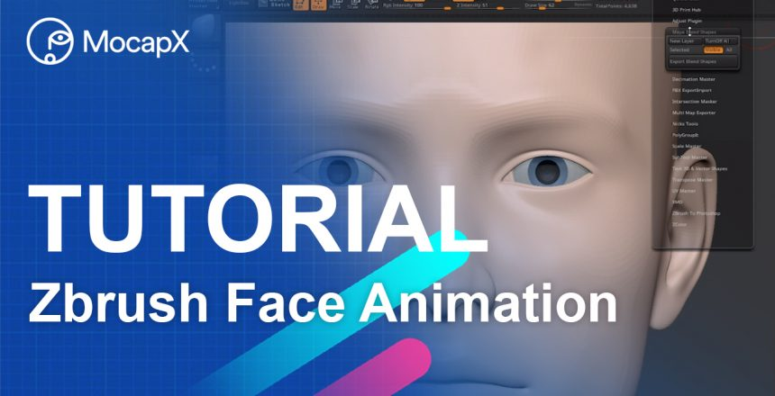 zbrush tutorial face animation mocap